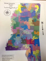 House District Map Yall Politics Mississippi House Redistricting Map Released