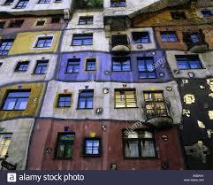 house 1985 geography travel austria vienna buildings hundertwasser