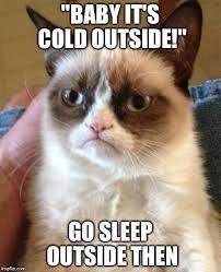 Go Sleep Meme - grumpy cat meme imgflip