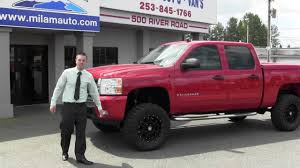 Red Lifted Chevy Silverado Truck - 2008 chevrolet silverado lifted from milam mazda and truck country