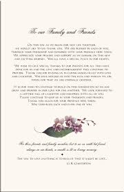 thank yous on wedding programs wedding programs orchid wedding program exles wedding program