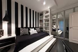 black and white bedroom wallpaper decor ideasdecor ideas the elegance of white and black bedroom ideas that you can apply to