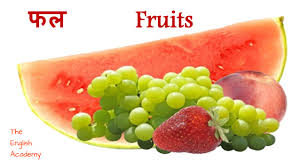 fruit names with pictures in english u0026 hindi for children youtube