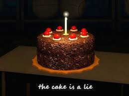 The Cake Is A Lie Meme - the cake is a lie meme wiki fandom powered by wikia