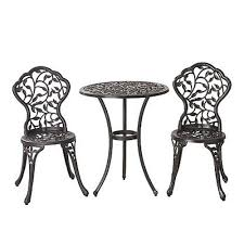 wrought iron bistro table and chair set cheap iron metal bistro sets for sale best cast iron patio sets
