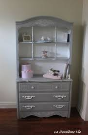 Dresser With Bookshelves by Night Table In Paris Grey Ascp Grooves Bring Up With White Wax