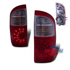 2004 tundra tail light led tail lights for 2004 2006 toyota tundra sr5 rear brake ls red