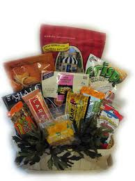 healthy gift basket ideas healthy hiker gift basket by well baskets grocery