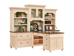 Partner Desk With Hutch Bridgeport Partner Desk With Three Hutch From Dutchcrafters