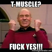 Fuck Yes Meme - t muscle fuck yes picard yes meme generator