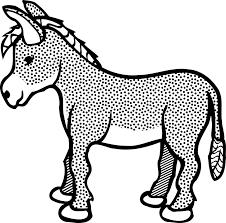 free vector graphic donkey animals cute farm free image