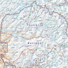 Yosemite Valley Map Yosemite National Park Area U2014 Benchmark Maps