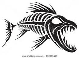 tribal fish skeleton designs yahoo image search results