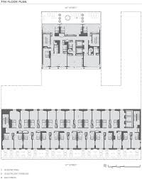 hotel floor plans dream downtown hotel by handel architects