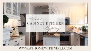 easy under cabinet kitchen lighting youtube easy under cabinet kitchen lighting