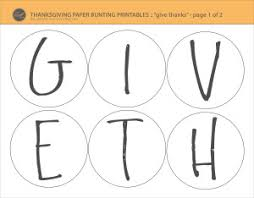 diy thanksgiving decoration craft free printables lce
