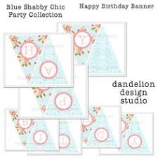 Shabby Chic Banner by Shabby Chic Bonne Fete Garland Party Fabulous French Soiree