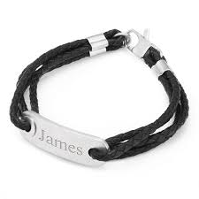 Mens Personalized Jewelry Engraved Id Bracelets For Men At Things Remembered