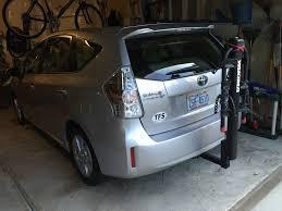 toyota prius bike rack bike rack for prius v priuschat