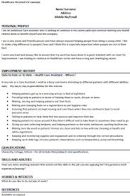 Phlebotomist Job Description Resume by Healthcare Assistant Cv Example Forums Learnist Org