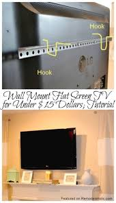 Rv Under Cabinet Tv Mount Best 25 Flat Screen Wall Mount Ideas On Pinterest Television