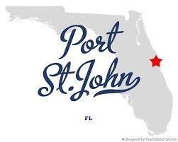 port st fl map map of port st fl florida