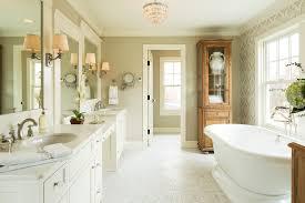 Crystal Chandelier For Bathroom Farmhouse Vanity Bathroom Farmhouse With Crystal Chandelier Country