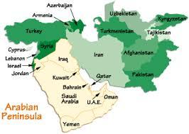 arab countries map arabian peninsula map arabian peninsula information arabian
