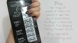 nail foil stickers review coupon u0026 tutorial youtube