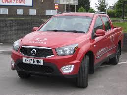 used ssangyong musso ex 2 doors pick up for sale in yeovil