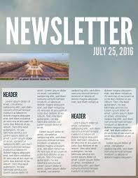 best of free church newsletter templates pikpaknews