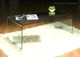 clear plastic console table clear plastic coffee table privet host