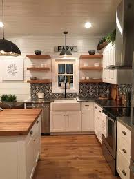 farmhouse kitchen counter decor the v side diy kitchen island