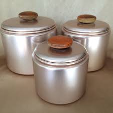 vintage metal kitchen canister sets best copper canister set products on wanelo