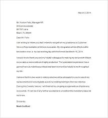 two weeks notice format 20 resignation letter sample 2 weeks