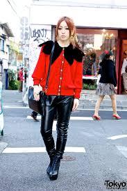 loco mack u0027s key in leather pants w chanel earrings u0026 betty boop
