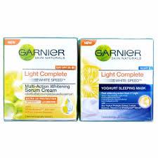Serum Vitamin C Garnier garnier light complete white speed day and skin