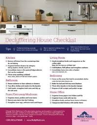 house checklist declutter house checklist how to declutter your home