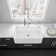 vigo all in one matte stone farmhouse 33 in 0 hole kitchen sink all in one matte stone farmhouse 33 in 0 hole kitchen sink