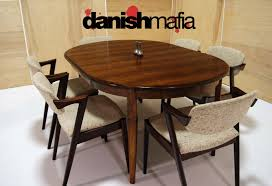 Mid Century Dining Table And Chairs Mid Century Modern Gunni Omann Omann Jun Rosewood Dining