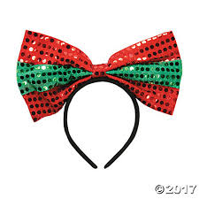 sequin headbands big bow sequin headbands