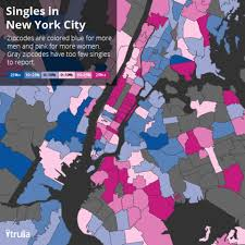 Trulia Map Where The Single People Are America U0027s Best Neighborhoods For