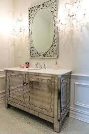 bathroom vanity with sink on right side bathroom vanity with sink on right side art deco powder room