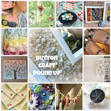 button craft round up button craft projects