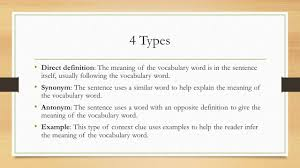 Meaning Of Antonym And Synonym Context Clues In Practice Ppt Download