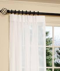 Patio Door Curtain Rod Innovative Patio Door Curtain Rods 1000 Images About Sliding Door