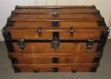 beautiful travel trunks antique chests trunks 1800 1899 ebay