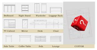 Hospitality Bedroom Furniture by Alime Custom Modern Hotel Room Furniture Sets Foshan Supply For