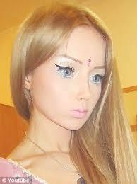 human barbie model excessive plastic surgery doll