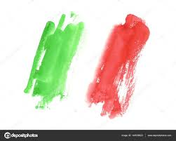 Flag Italy Watercolor Italian Flag Abstract Banner Of Italy U2014 Stock Photo